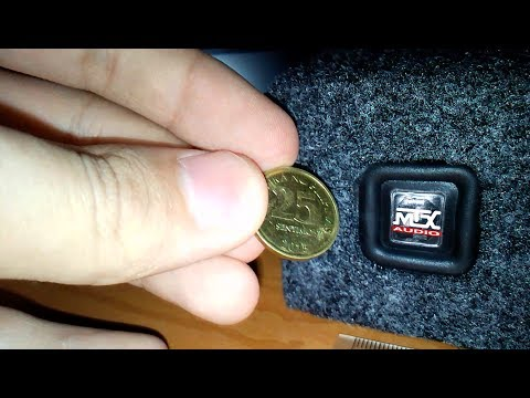 Mini Subwoofer 25mm (Smallest Subwoofer in the World) by Mark Anthony T. Montero