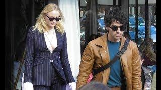 Joe Jonas & Sophie Turner @ Paris 1 october 2018 leaving the restaurant L'Avenue