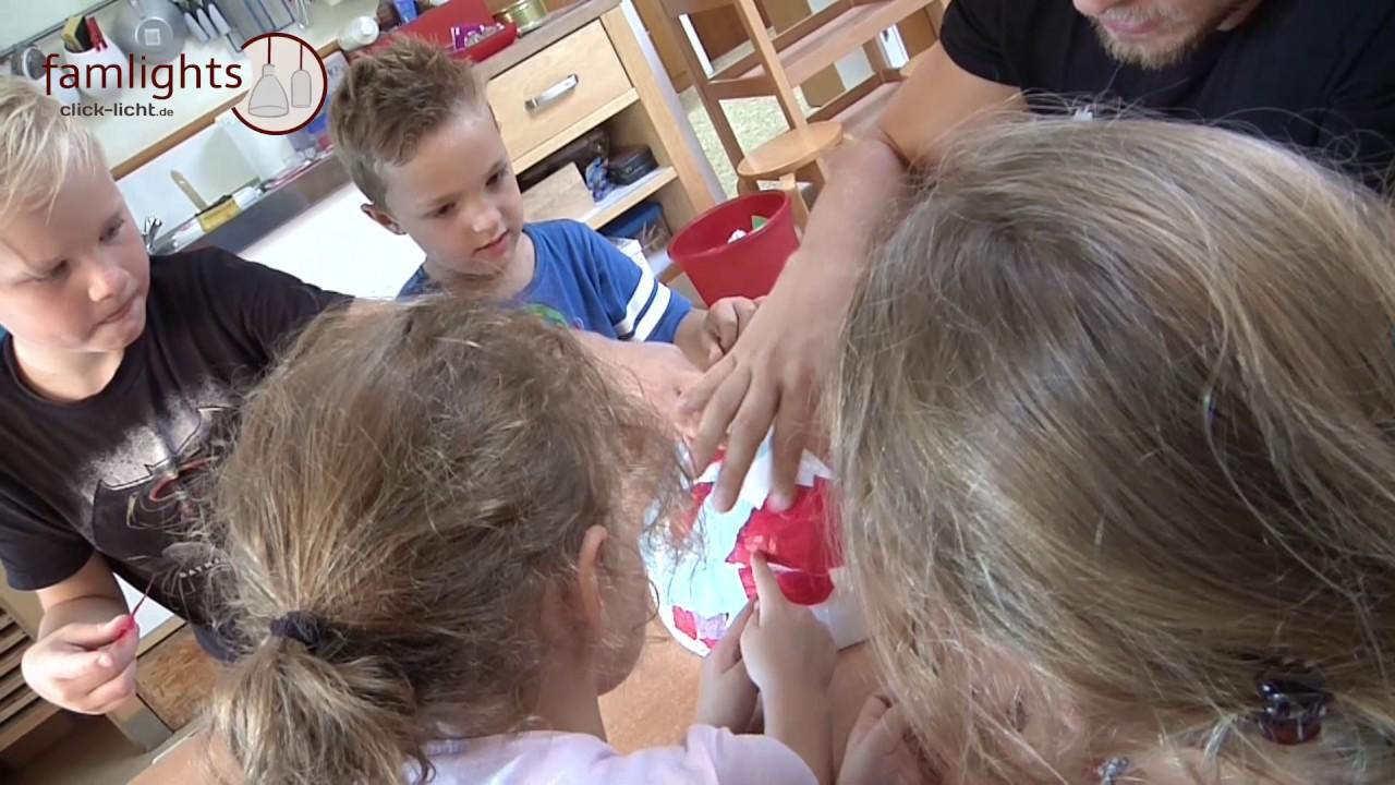 DIY Trend - Gipsleuchten für Ihr Kinderzimmer