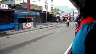 Riding a Jeepney Down Veterans Avenue In Zamboanga City