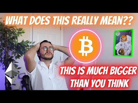 WE ARE **BLATANTLY** BEING LIED TO!!! THIS IS MUCH BIGGER THAN BITCOIN