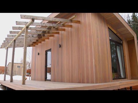 видео: Мини-дом для временного проживания // forumhouse