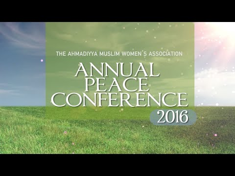 Annual Peace Conference 2016