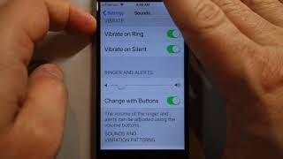 Set iPhone alarm volume with volume buttons