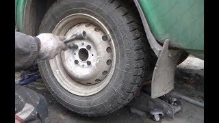 Стук, треск в заднем колесе при движении ВАЗ 2109