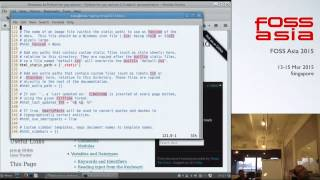 Document your code - FOSSAsia 2015