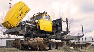 Обзор снегоболотохода Урал-5920