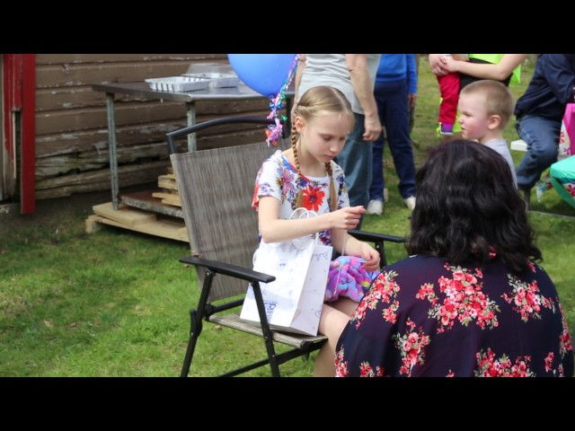 Haley's Adoption Party Video