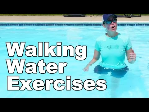 Water Exercise, Basic Walking (Aquatic Therapy) - Ask Doctor Jo