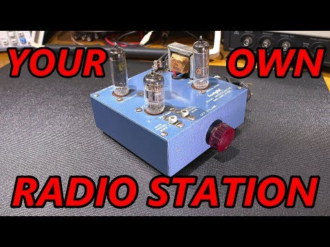 Your Own Radio Station! The Knight Radio Broadcaster And Amplifier!