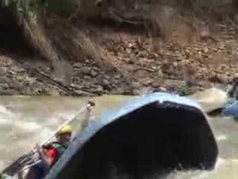 WHITE WATER RAFTING   ( PADAS RIVER, MALAYSIA, BORNEO )
