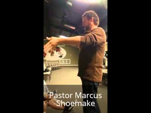 Youth Pastor Marcus Shoemake 011916 at THOB Youth Service