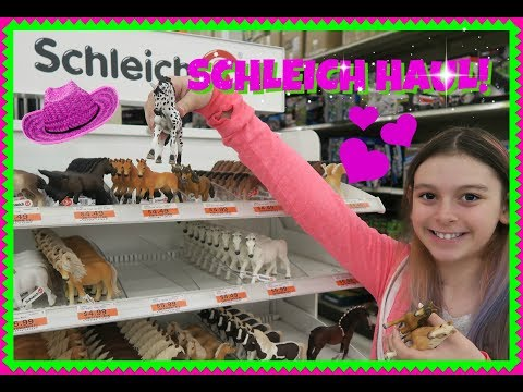 🐴SCHLEICH HORSE HAUL! 🐎SHOPPING FOR SCHLEICH HORSES!🐎First Day TV