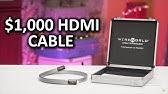 $1,000 HDMI Cable!? - Useless Tech Over $100 Ep. 1