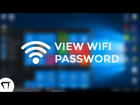 How To View WiFi Password Saved On Windows | CYBERTECH