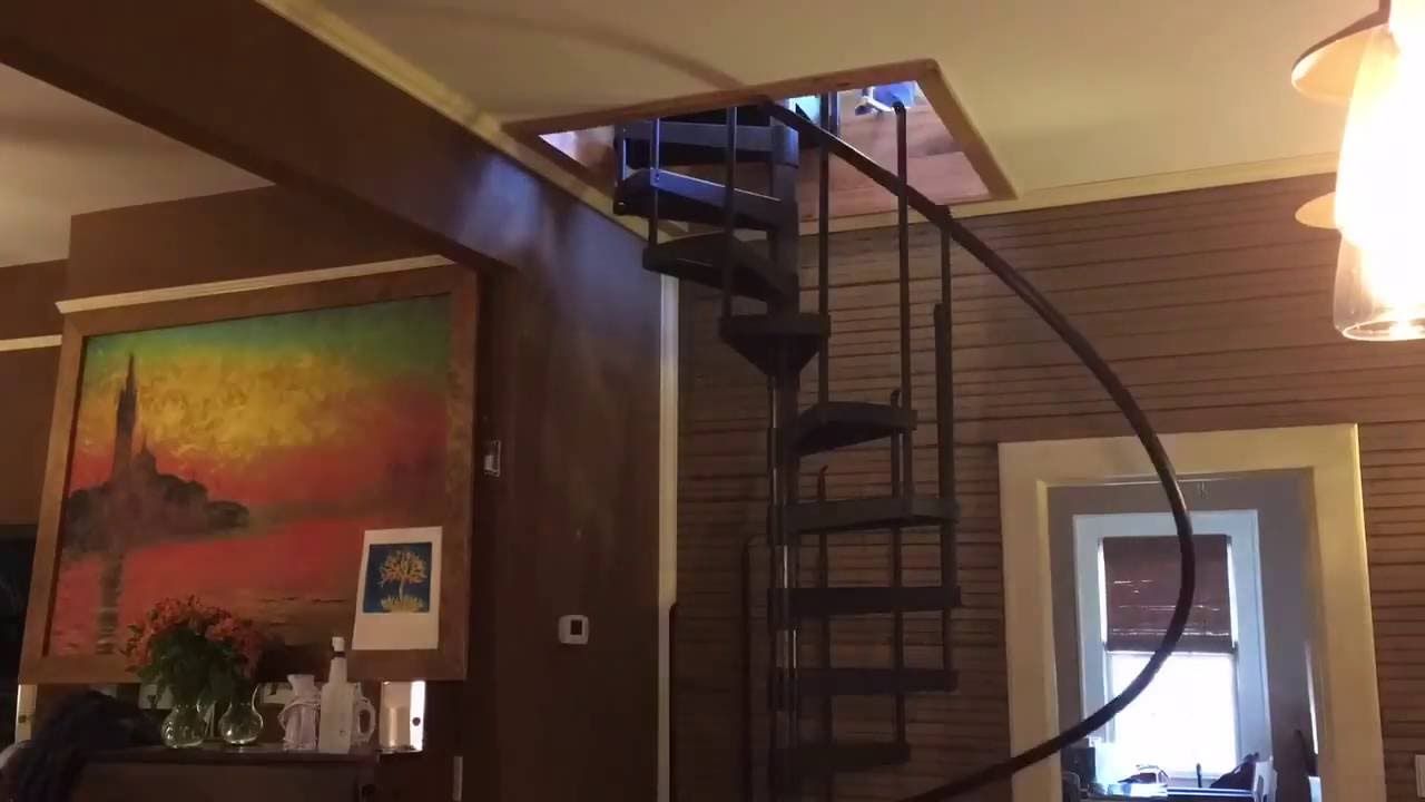 Spiral Stairs Installation Time Lapse Youtube | Installing A Spiral Staircase | 10 Foot | Glass | Drawing | Interior | Staircase 2