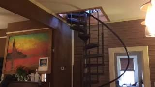 Spiral Stairs Installation (Time Lapse)