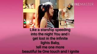 Gambar cover Darkside & ignite - MASHUP cover by j.fla..lyrics by lyric video