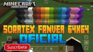 TEXTURA SOARTEX FANVER 64x64 PARA MINECRAFT PE 1.1.4- TEXTURA SOARTEX