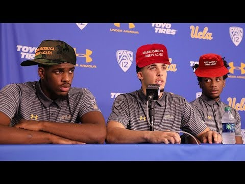UCLA Basketball Players Thank Trump and the US Government For Their Release From China (VIDEO)