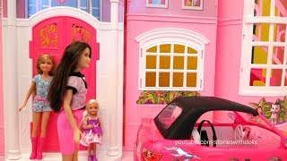 Barbie Toy Episodes ! Toys and Dolls Fun with Barbie's Car Wash, Dreamhouse, and the Park
