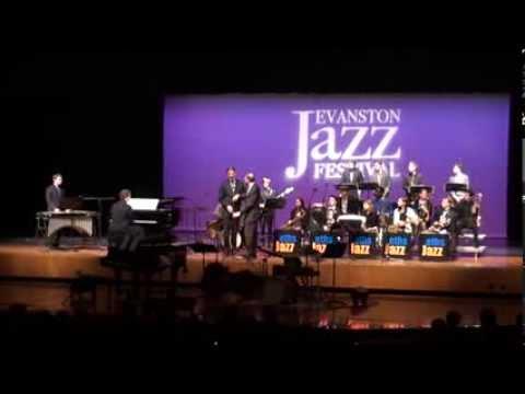 Evanston Township High School Jazz Ensemble evening performance 2014