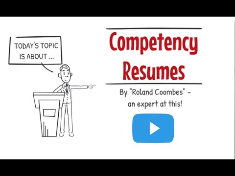 Competency Based Resumes | Advanced Resume Writing Tips