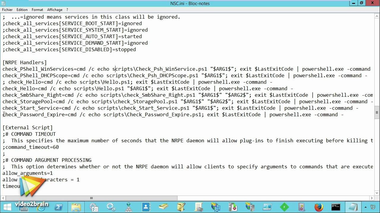 Tutoriel IT : Configurer NSClient++ | video2brain com
