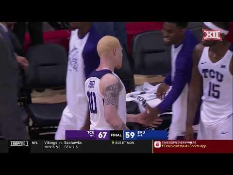 TCU vs. SMU Men's Basketball Highlights