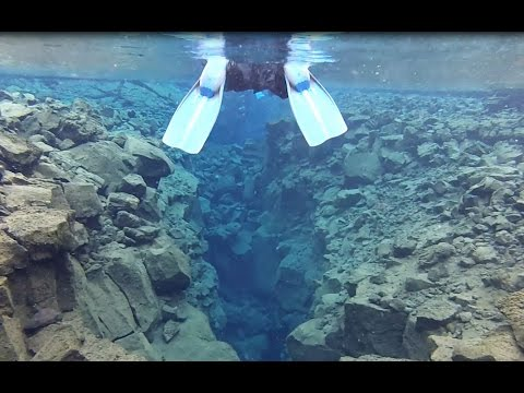 Snorkelling at the Mid-Atlantic Ridge - Iceland
