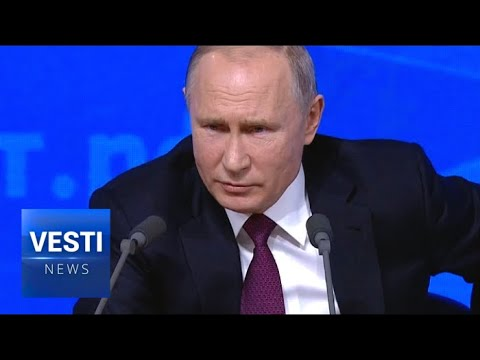 Frightening!! No Apprehension of Nuclear War in the West - Putin's Direct Line