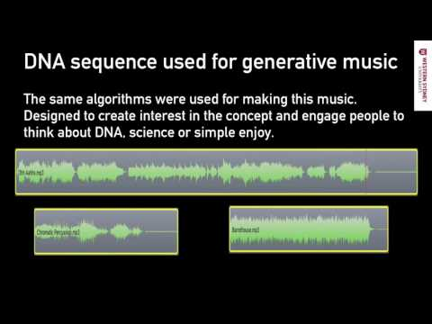 What does DNA sound like? 07 DNA as Music