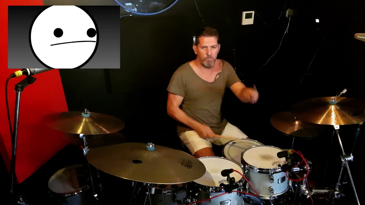 Muffin Time (asdfmovie) Drum Cover by Darran Muller