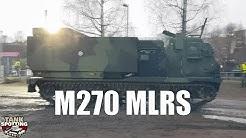 M270 MLRS Rocket Artillery Departure - Raskas raketinheitin 298 RSRAKH