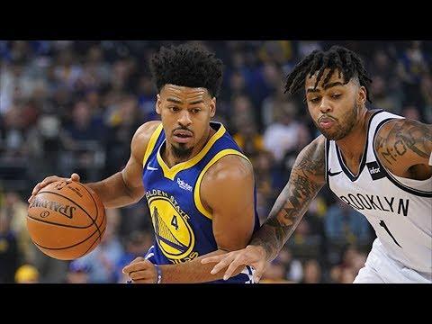 No Curry, Quinn Cook 27 Points Season High vs Nets! 2018-19 NBA Season