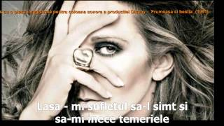 Céline Dion - A New Day Has Come tradus ROMANA obl HD