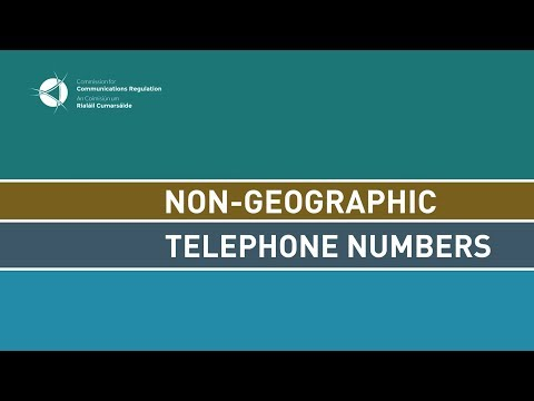 Review of Non-Geographic Numbers Mp3