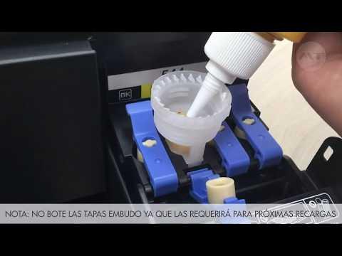 impresora-multifuncional-epson-ecotank-l3110---instalacion-de-tintas-de-sublimacion