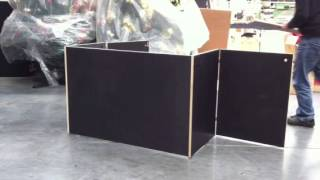 Knockdown table assembly 2