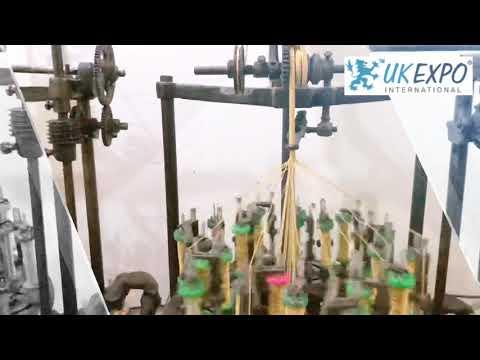#Braid And #Cord #Machine By UK EXPO INTERNATIONAL®