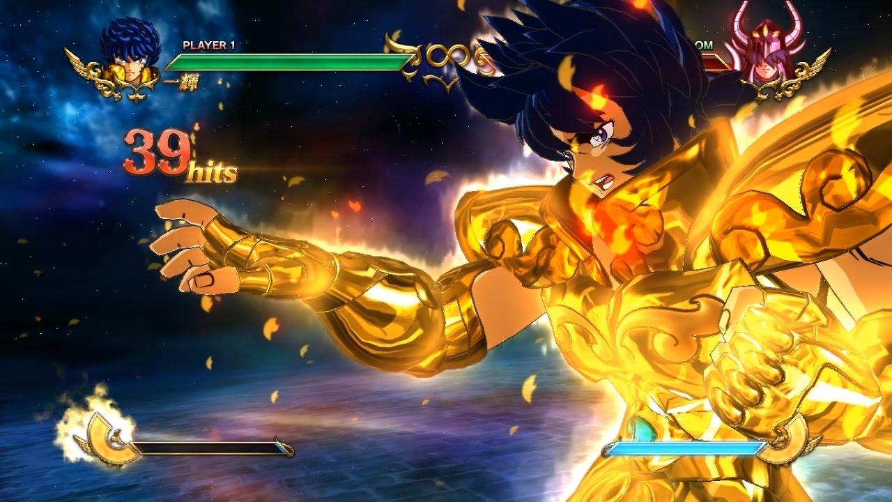 Saint Seiya Soldiers' Soul Ikki  Gold Combo