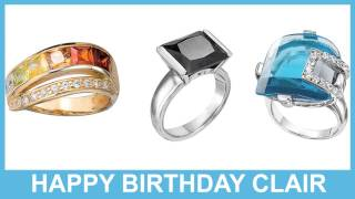Clair   Jewelry & Joyas - Happy Birthday