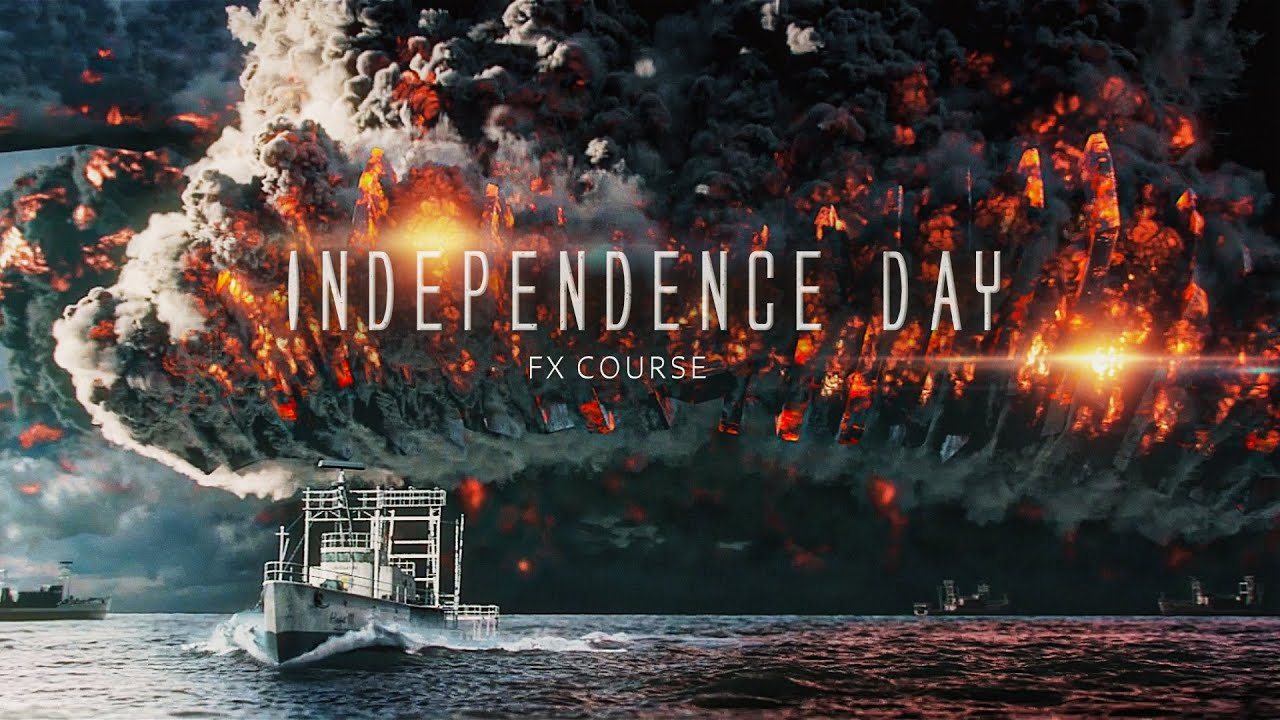 Wingfox – Independence Day – Production procedure of a movie VFX scene using Houdini