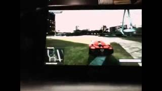 Glitch sur need for speed Most Wanted