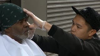 Haircuts for Homeless: Celebrity Hairstylist Offers Free Cuts