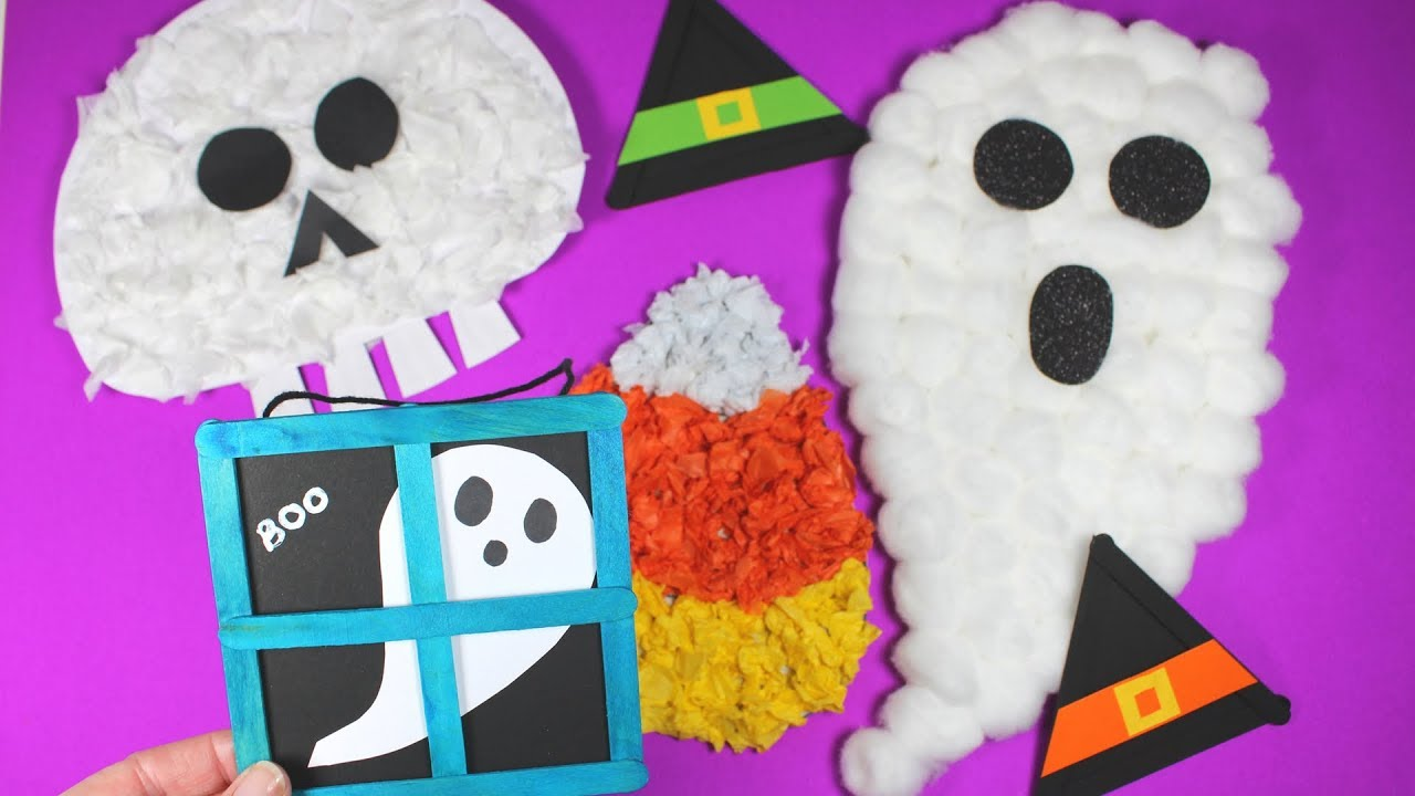 Fun Halloween Crafts For Toddlers Halloween Craft Ideas