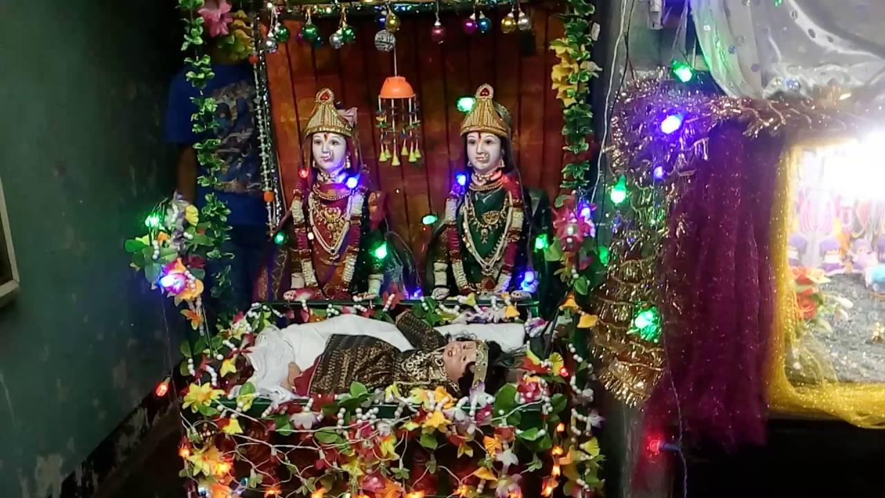 Gauri Ganapati Decoration Idea Youtube