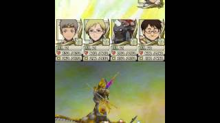 Suikoden Tierkreis - Final battle - Last Boss - The One King