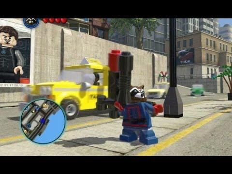 marvel lego unlock rocket raccoon