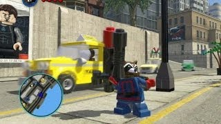 LEGO Marvel Super Heroes - Unlocking Rocket Raccoon (All 3 Rocket Raccoon Missions)